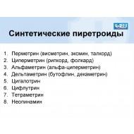 КОНЦЕНТРАТЫ ЖИДКИЕ от насекомых - Классификация по действующим веществам. (58)